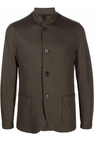 Harris Wharf London Men Blazers - Single-breasted virgin wool blazer - 609 MOOS