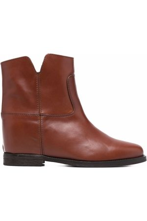 Via Roma Cut-out ankle boots