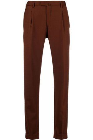 BRIGLIA Men Formal Pants - Slim-cut tailored trousers