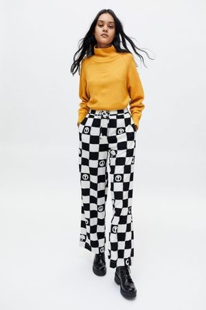 Urban Outfitters Women Pants - UO Carmen Printed Pull-On Pant
