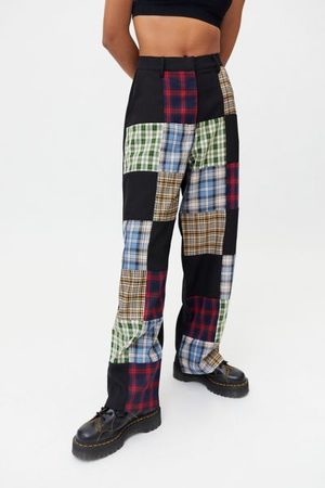 The Ragged Priest Plaid Patchwork Pant