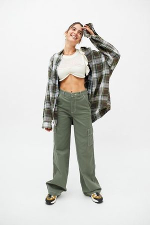 Lee Heritage High Rise A-Line Cargo Pant