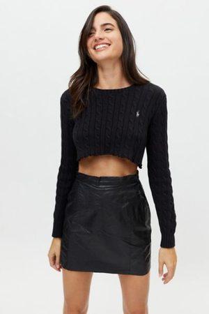 Urban Vintage Leather Mini Skirt
