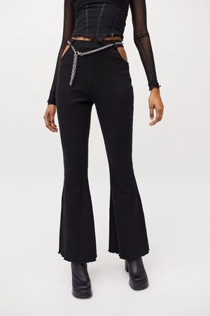 The Ragged Priest Women Wide Leg Pants - Confusion Flare Pant