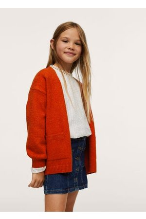 MANGO Pocket knit cardigan