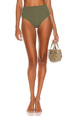 Bond Eye Palmer Eco Brief Bikini Bottom in Olive