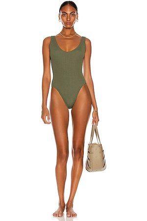 Bond Eye Mara Eco One Piece Swimsuit in Olive