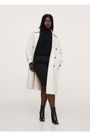 MANGO Women Pencil Skirts - Stretch pencil skirt