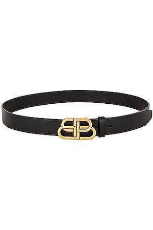 Balenciaga BB Large Belt in