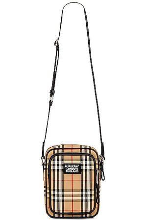 Burberry Freddie Vintage Crossbody Bag in