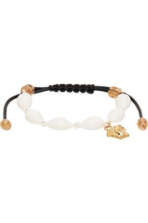 VERSACE Black & Gold Shell Bracelet
