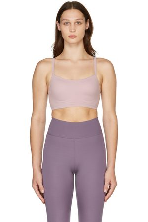 Nike Pink Indy Luxe Sports Bra