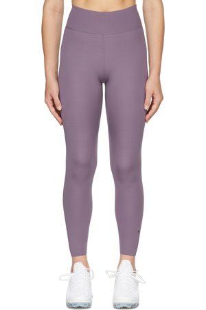 Nike Purple One Luxe 7/8 Sport Leggings