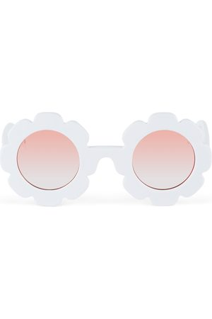 Sons + Daughters Kids White Pixie Sunglasses