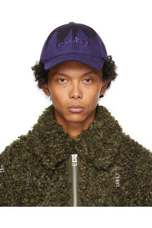 Feng Chen Wang Purple & Black Tie Dye Cap