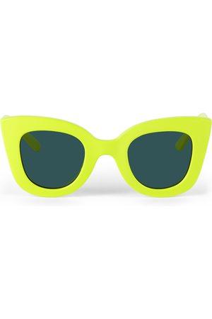 Sons + Daughters Kids Yellow Cat Cat Sunglasses