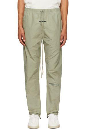 Essentials Men Sweatpants - Khaki Track Lounge Pants