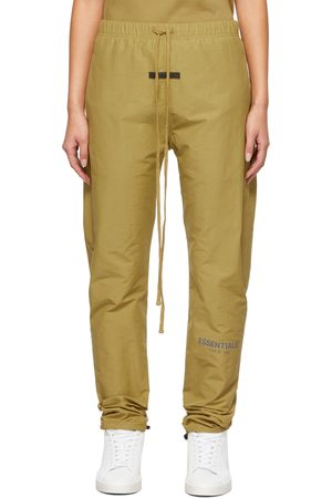 Essentials Women Sweats - Green Track Lounge Pants