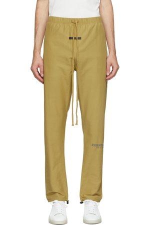 Essentials Green Track Lounge Pants
