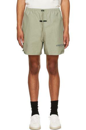 Essentials Men Shorts - Khaki Volley Shorts