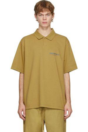 Essentials Men Polo Shirts - Green Jersey Polo