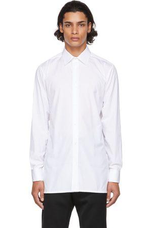 Maison Margiela White Cotton Poplin Shirt