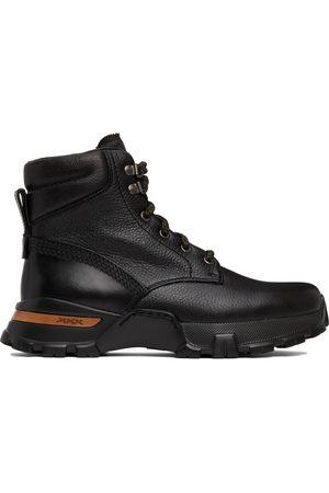 Ermenegildo Zegna Black Carlo Lace-Up Boots