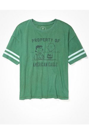 American Eagle Outfitters Peanuts Graphic T-Shirt Women's XS