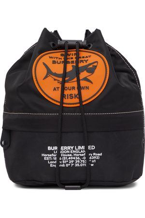 Burberry Nylon Badge Appliqué Backpack