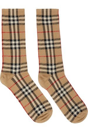 Burberry Check Jacquard Socks