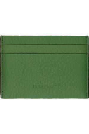 Burberry Green Sandon Card Holder