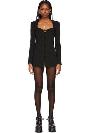 VERSACE Black Medusa Evening Dress