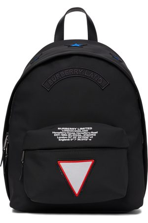 Burberry Nylon Scout Badges Backpack