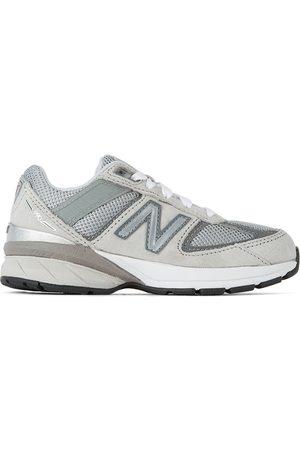 New Balance Kids Grey 990 v5 Sneakers