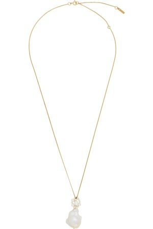 COMPLETEDWORKS Gold Pearl Pendant