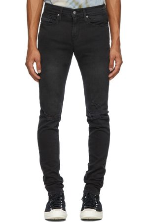 Frame Grey Jagger True Skinny Jeans