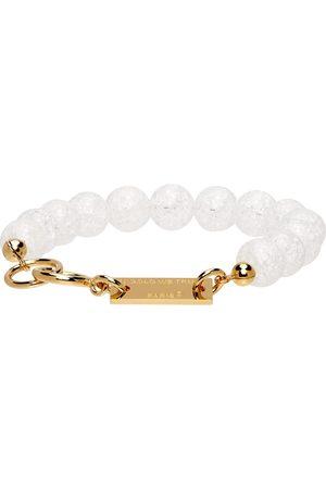 In Gold We Trust SSENSE Exclusive Beaded Bracelet
