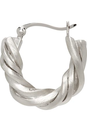 COMPLETEDWORKS Silver Deep State Single Earring