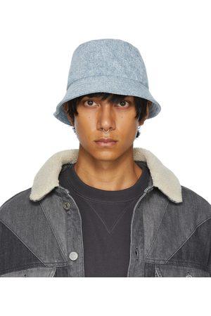 Isabel Marant Blue Denim Haleyh Bucket Hat