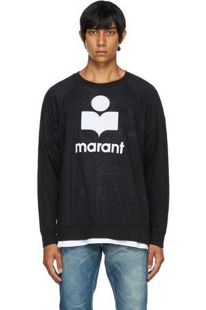 Isabel Marant Black Kieffer Long Sleeve T-Shirt