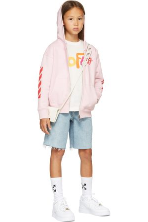 OFF-WHITE Kids White Rounded 'Off' Long Sleeve T-Shirt
