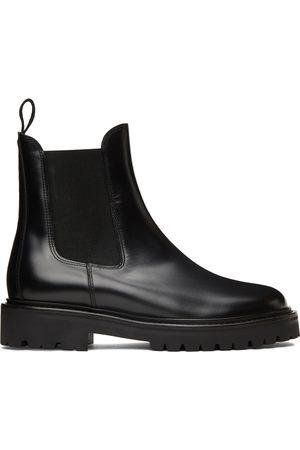 Isabel Marant Black Castayh Chelsea Boots