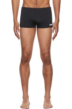 OFF-WHITE Black & White Logo Active Swim Shorts
