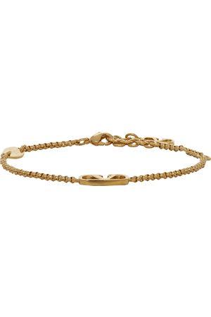 VALENTINO GARAVANI Gold VLogo Chain Bracelet