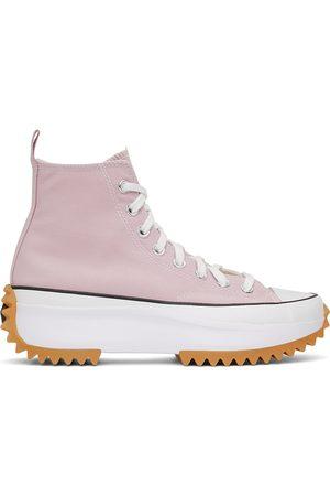 Converse Pink Run Star Hike Hi Sneakers