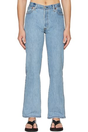 RE/DONE Blue Levi's Edition High-Rise Loose Jeans
