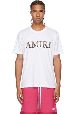 AMIRI Leopard Logo T-Shirt