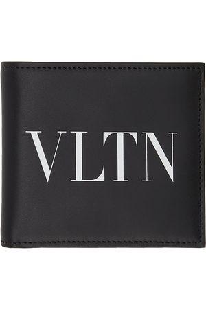 VALENTINO GARAVANI Black & White 'VLTN' Wallet