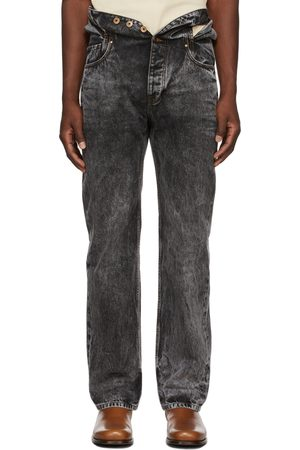 Y / PROJECT Wash Knotted Waist Jeans