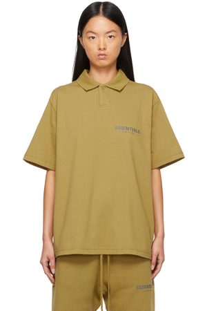 Essentials Women Polo Shirts - Green Jersey Polo